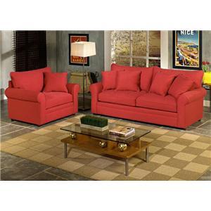 Craftmaster 7235 Stationary Living Room Group