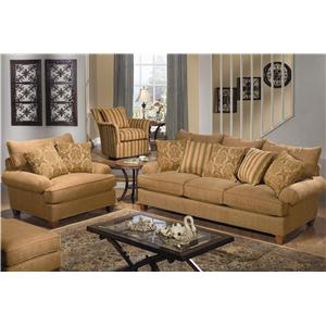 Craftmaster 7990 Stationary Living Room Group