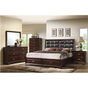 Crown Mark  B6510 King Bedroom Group