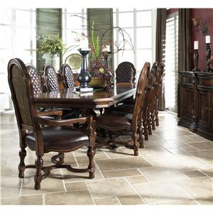 Fine Furniture Design Viniterra Formal Dining Room Group