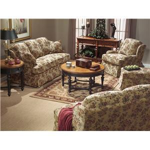Flexsteel Danville Stationary Living Room Group