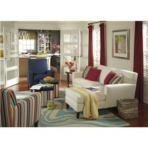 Flexsteel Digby Stationary Living Room Group