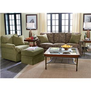 Flexsteel Jennings Stationary Living Room Group