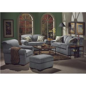 Flexsteel Main Street Stationary Living Room Group