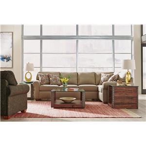 Flexsteel Thornton  Stationary Living Room Group