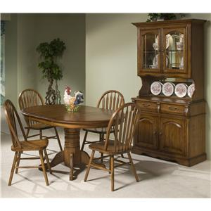 Intercon Classic Oak Casual Dining Room Group