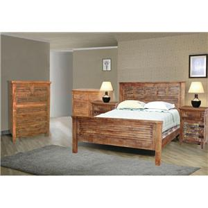 Jaipur Furniture Guru Queen Bedroom Group