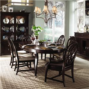 Kincaid Furniture Alston Formal Dining Room Group