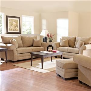 Klaussner Holly Stationary Living Room Group