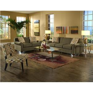 Klaussner Mayhew Stationary Living Room Group