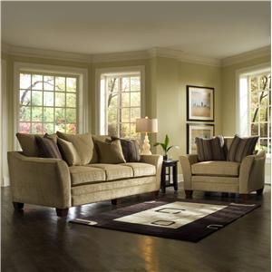 Klaussner Posen Stationary Living Room Group