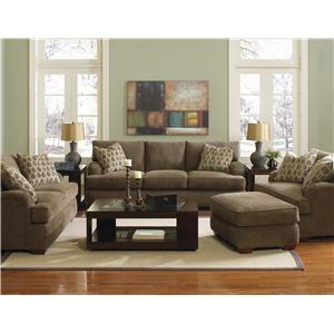 Klaussner Vaughn Stationary Living Room Group