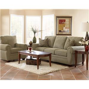 Klaussner Westbrook Stationary Living Room Group