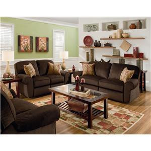 Lane Megan Reclining Living Room Group