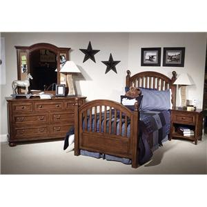 Legacy Classic Kids American Spirit Twin Bedroom Group