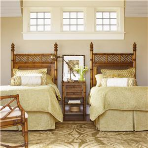 Tommy Bahama Home Island Estate Twin Bedroom Group