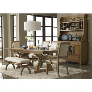 Liberty Furniture Town & Country Formal Dining Room Group
