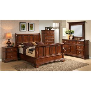 Lifestyle 3185A Queen Bedroom Group
