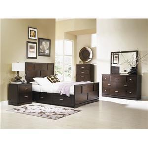 Najarian Key West Queen Bedroom Group