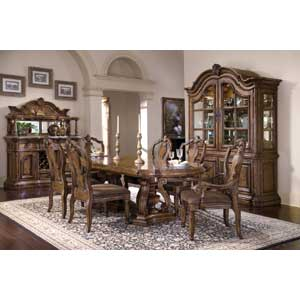 Pulaski Furniture San Mateo Formal Dining Room Group