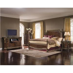 Pulaski Furniture Del Corto Queen Bedroom Group