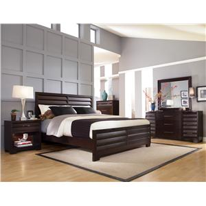 Pulaski Furniture Tangerine  Queen Bedroom Group