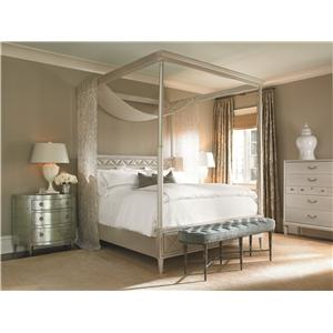 Kaleidescope Home Caracole - New Traditional California King Bedroom Group
