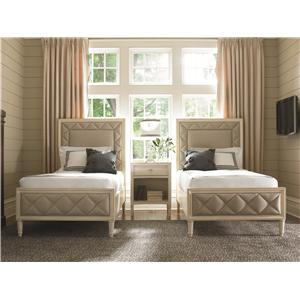 Kaleidescope Home Caracole - New Traditional Twin Bedroom Group