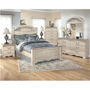 Signature Design by Ashley Catalina B196 Queen Bedroom Group