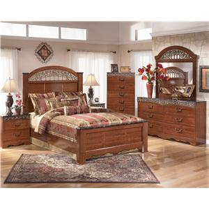 Signature Design by Ashley Furniture Fairbrooks Estate Queen Bedroom Group
