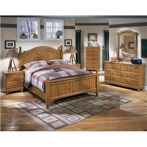 Signature Design by Ashley Stages Queen Bedroom Group