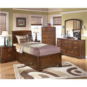 Signature Design by Ashley Furniture Alea Twin Bedroom Group