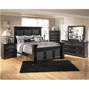Signature Design by Ashley Cavallino Queen Bedroom Group