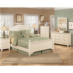 Signature Design by Ashley Cottage Retreat Queen Bedroom Group