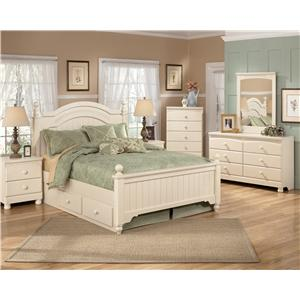 Signature Design by Ashley Cottage Retreat Full Bedroom Group