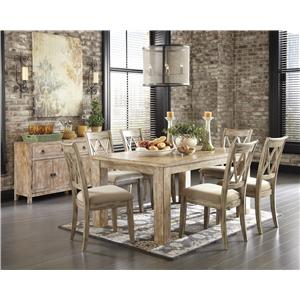 Signature Design by Ashley Mestler Casual Dining Room Group
