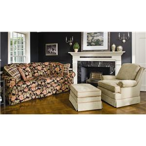 Smith Brothers 124 Stationary Living Room Group