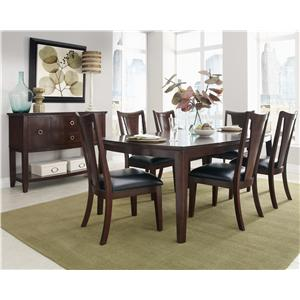 Standard Furniture Park Avenue II Formal Dining Room Group