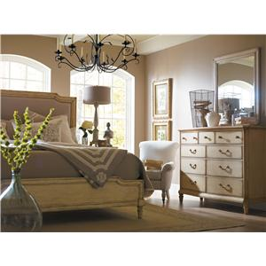 Stanley Furniture The Classic Portfolio - European Cottage Queen Bedroom Group