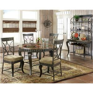 Steve Silver Hamlyn Casual Dining Room Group
