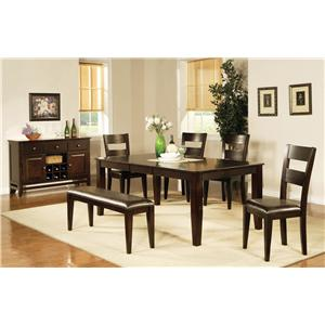 Steve Silver Victoria  Casual Dining Room Group