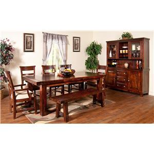 Sunny Designs Vineyard Formal Dining Room Group