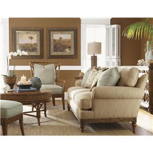 Tommy Bahama Home Beach House Stationary Living Room Group