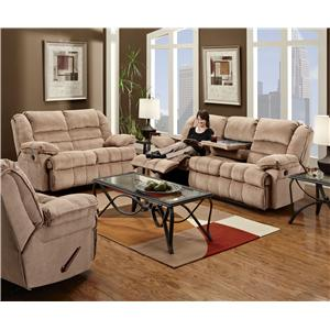 United Furniture Industries 50410 Reclining Living Room Group