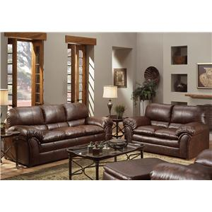 United Furniture Industries 6152 Stationary Living Room Group
