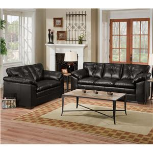 United Furniture Industries 6569 Stationary Living Room Group