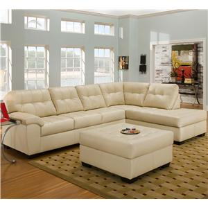 United Furniture Industries 9569 Stationary Living Room Group