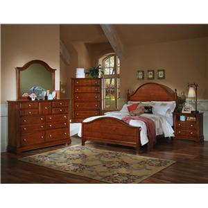 Vaughan Bassett Cottage California King Bedroom Group