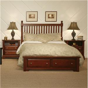 Vaughan Bassett Cottage Queen Bedroom Group