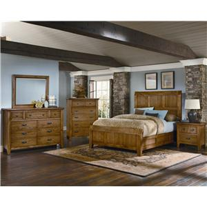 Vaughan Bassett Timber Mill King Bedroom Group